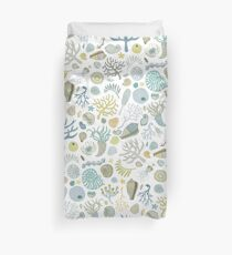 Natural Forms - nautical pattern by Cecca Designs Duvet Cover