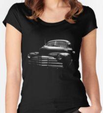 1947 chevrolet, black shirt Women's Fitted Scoop T-Shirt