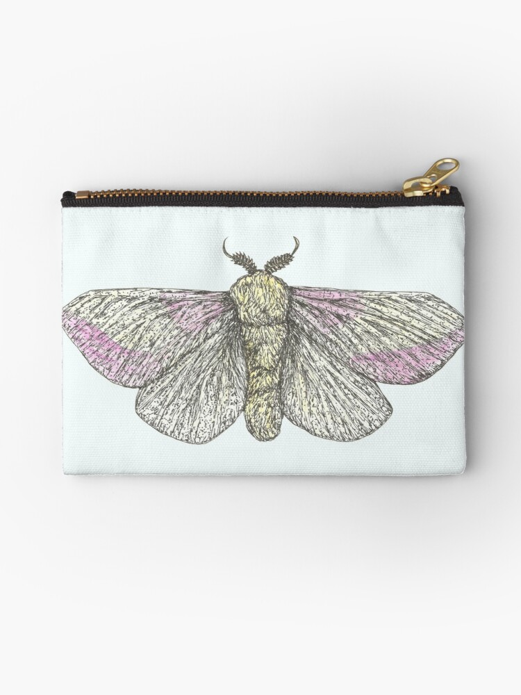 Rosy Maple Moth by SerenSketches