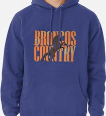Broncos Country Miles Orange Pullover Hoodie