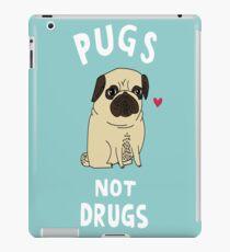 Pug not Drugs funny iPad Case/Skin
