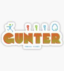 Ready Gunter One Sticker
