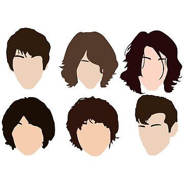 Alex Turner's hair evolution by Vhitostore