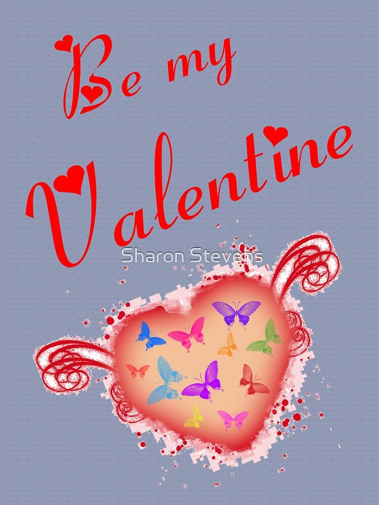 Valentine Card by Sharon Stevens