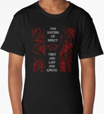 The Sisters Of Mercy - The Worlds End - First and Last and Always Long T-Shirt