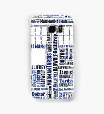 Doctor Who Wordart Samsung Galaxy Case/Skin