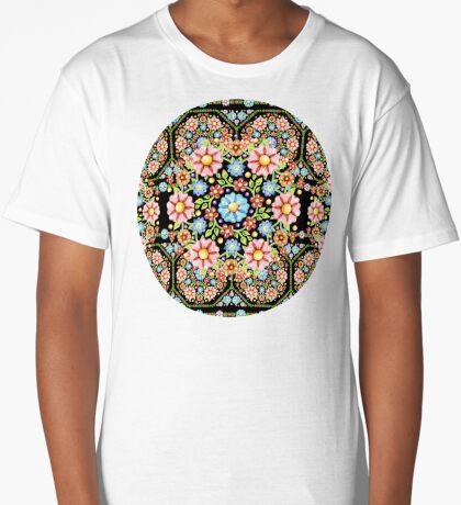 Millefiori Rosette Long T-Shirt