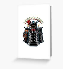 Doctor Who - Daleks Greeting Card