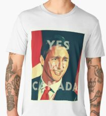 Justin Trudeau Yes We Canada Men's Premium T-Shirt