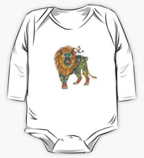 Lion, from the AlphaPod collection One Piece - Long Sleeve