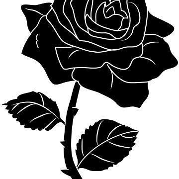 Black rose by Demonkin