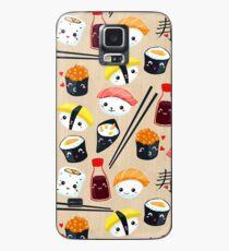 Funda/vinilo para Samsung Galaxy Kawaii Sushi