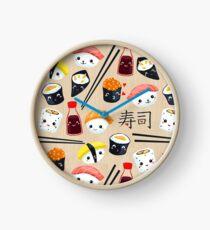 Kawaii Sushi Clock