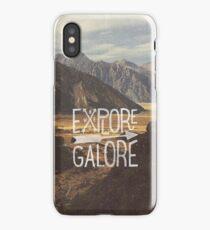 Explore Galore iPhone Case/Skin