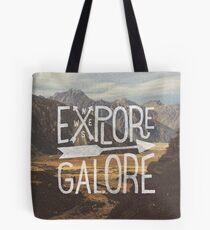 Explore Galore Tote Bag
