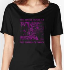 The Sisters Of Mercy - The Worlds End - The Reptile House EP Women's Relaxed Fit T-Shirt