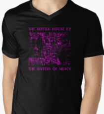 The Sisters Of Mercy - The Worlds End - The Reptile House EP Men's V-Neck T-Shirt