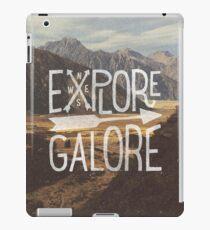 Explore Galore iPad Case/Skin