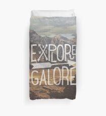 Explore Galore Duvet Cover