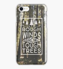TOUGH TREES iPhone Case/Skin