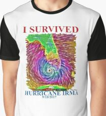 I survived Hurricane Irma  Graphic T-Shirt