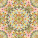 Pink Carousel Mandalas by PatriciaSheaArt