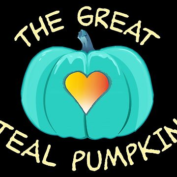 The Great Teal Pumpkin by poetologie