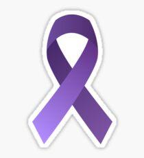 Purple Awareness Sticker