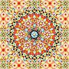 Gypsy Caravan Mandala by PatriciaSheaArt