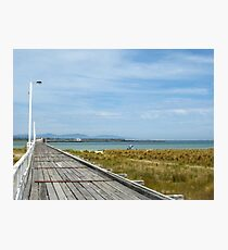 Historic Long Jetty - Port Welshpool Photographic Print