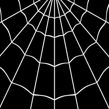 Spider Web - Black by clockworkheart