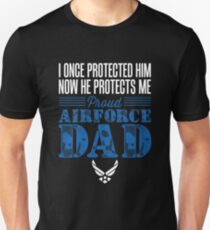 Proud Air Force Dad Son T-Shirt