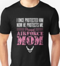 Proud Air Force Mom Son T-Shirt
