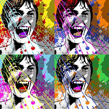 Alfred Hitchcock's Psycho Janet Leigh Pop Art by unclegertrude