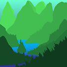 River Woods by André Martínez