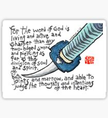 Living Sword Sticker