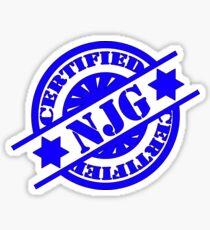 certified nice jewish girl Sticker