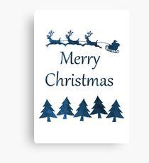 Santa Claus - Merry Christmas Canvas Print