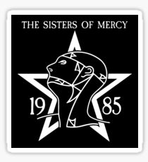 The Sisters of Mercy - The World's End - 1985 - Royal Albert Hall Sticker