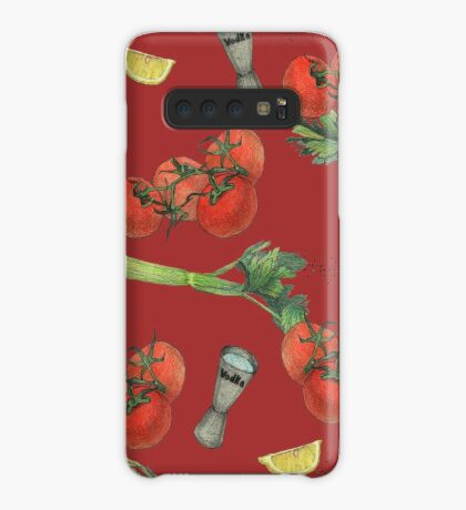bloody mary recipe Case/Skin for Samsung Galaxy