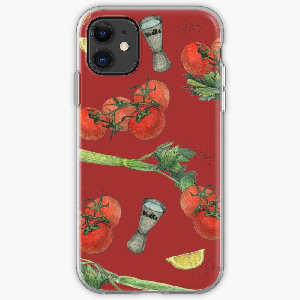bloody mary recipe iPhone Case & Cover