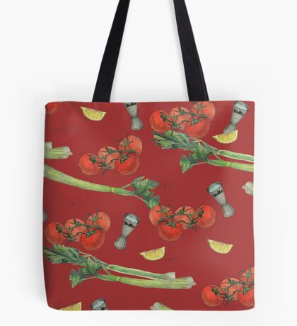 bloody mary recipe Tote Bag