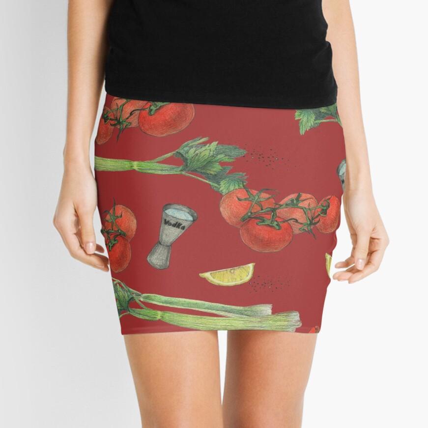 bloody mary recipe Mini Skirt