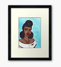 Queen of the Air Framed Print