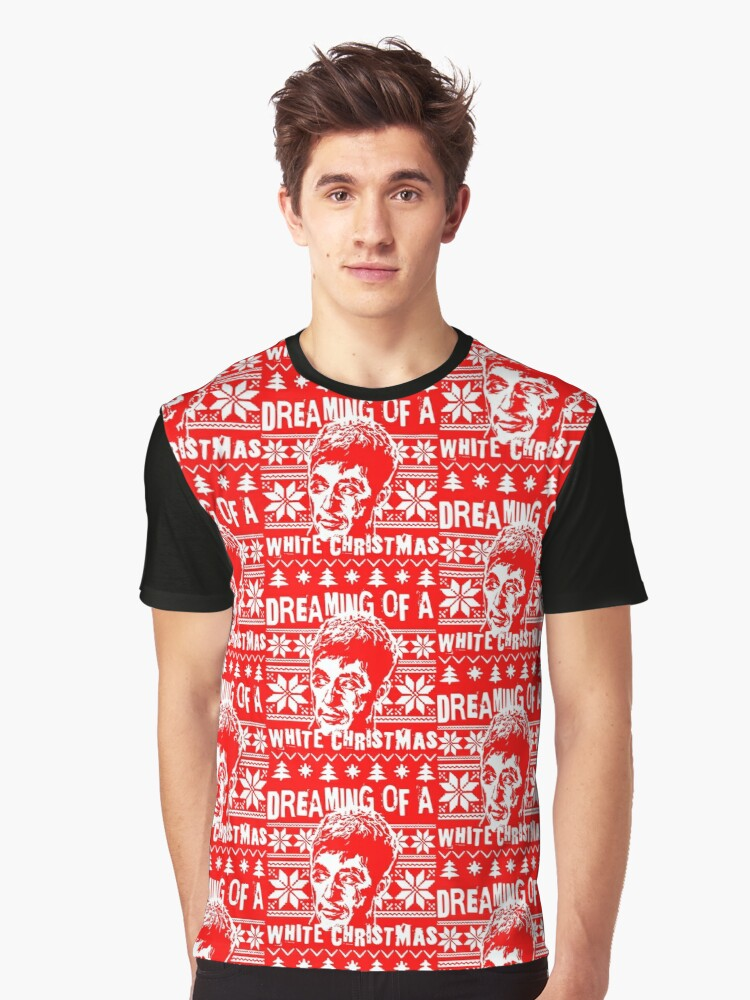 Scarface Christmas Sweater Print Graphic T Shirt By Mrilladesigns