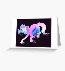 Pastel Goo-Yena  Greeting Card