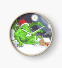 Great Cthulhu Hates Christmas - The Last Delivery Clock