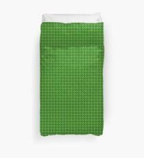 Green Clover Duvet Cover