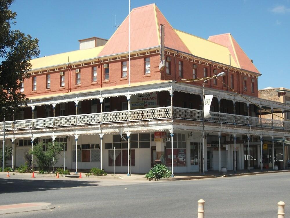 Broken Hill, Mario's Palace Hotel  by Heather Dart