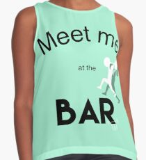 Meet me at the bar Contrast Tank